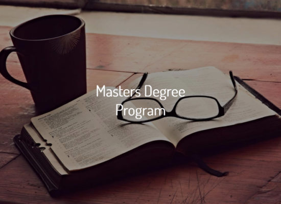 Online Bible College Degrees- Masters Degree Program