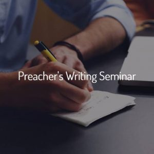 Bible College Online- Preacher's Writing Seminar Taught by Dr. J Michael Callaghan