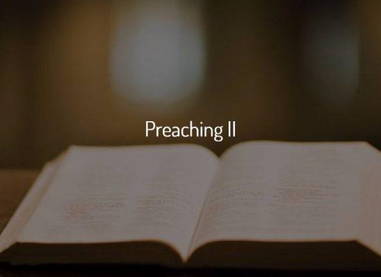 Preaching II