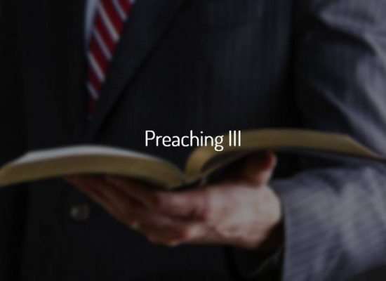 Preaching III