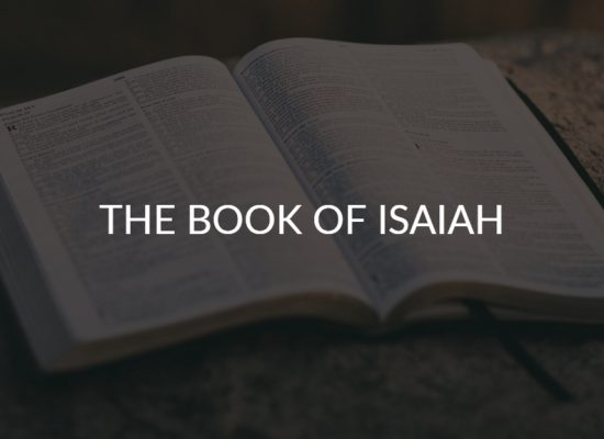 The Book Of Isaiah 101