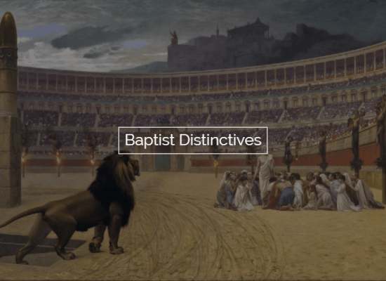Baptist Distinctives