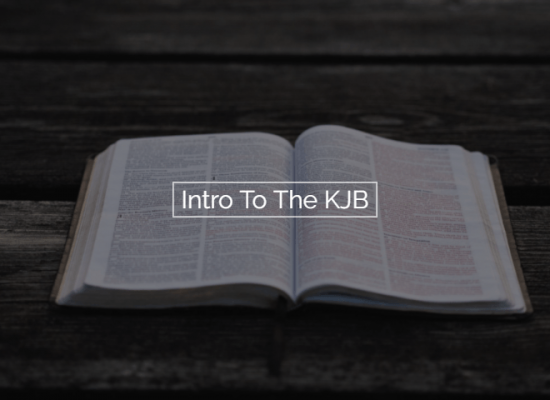 Intro To The KJB