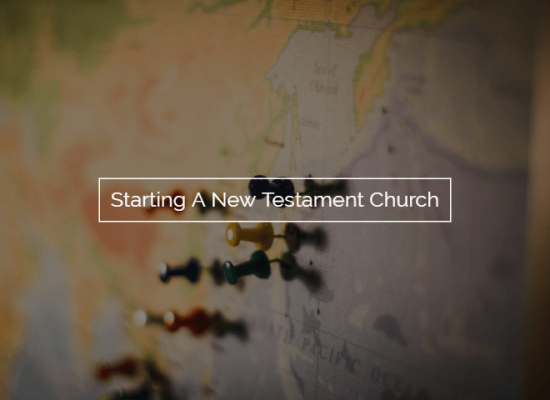 Starting A Church