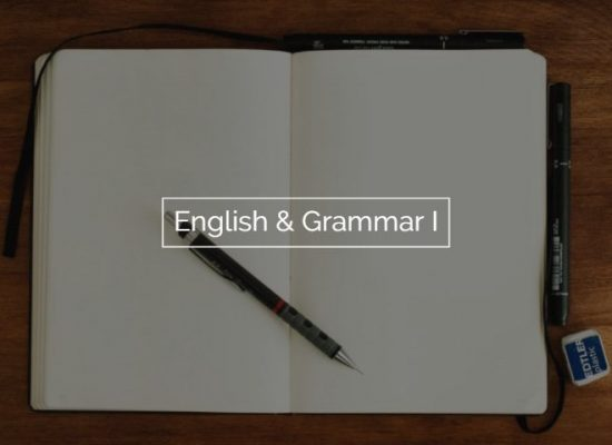 English & Grammar I