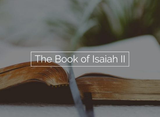 The Book of Isaiah II